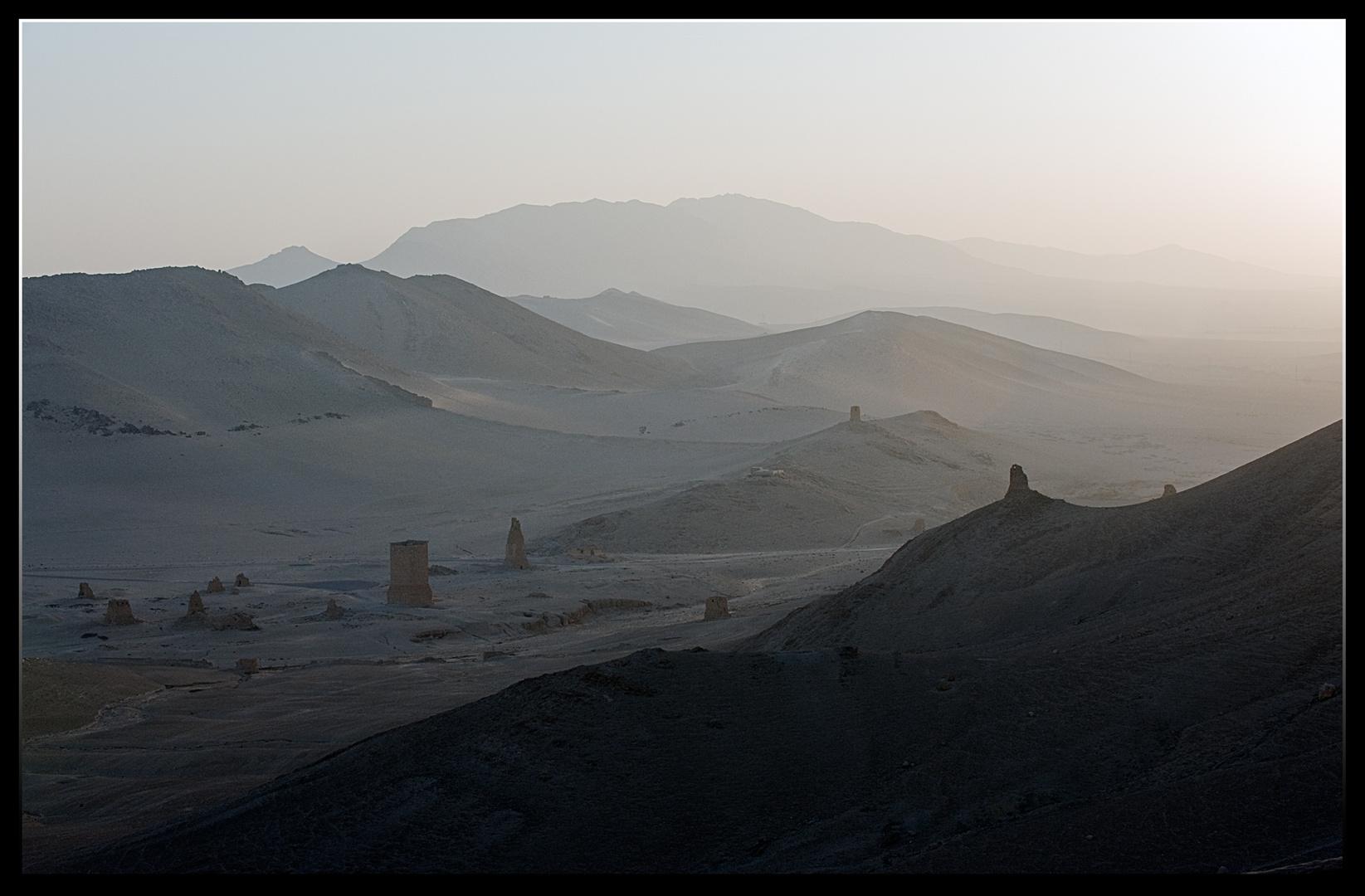 Palmyre, la vallée des tombeaux