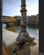 Palo su LungArno e Ponte Vecchio