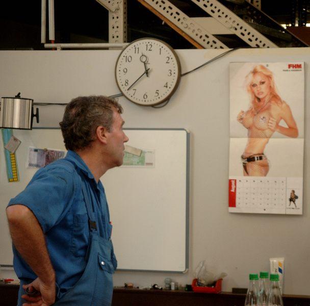 Pamela Anderson ist auf meinem Foto zusehen, ...