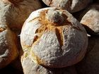Pan en horno de leña