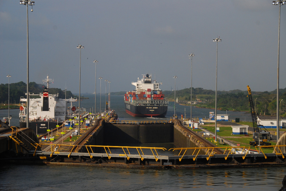 Panama-Canal; Gatún Locks