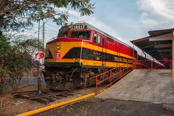 Panama Canal Railway...