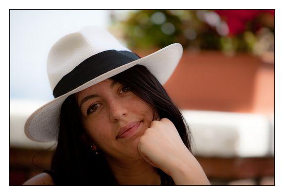 Panama hat faces 1