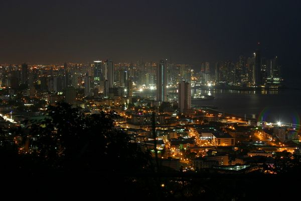 Panama Skyline @ Night