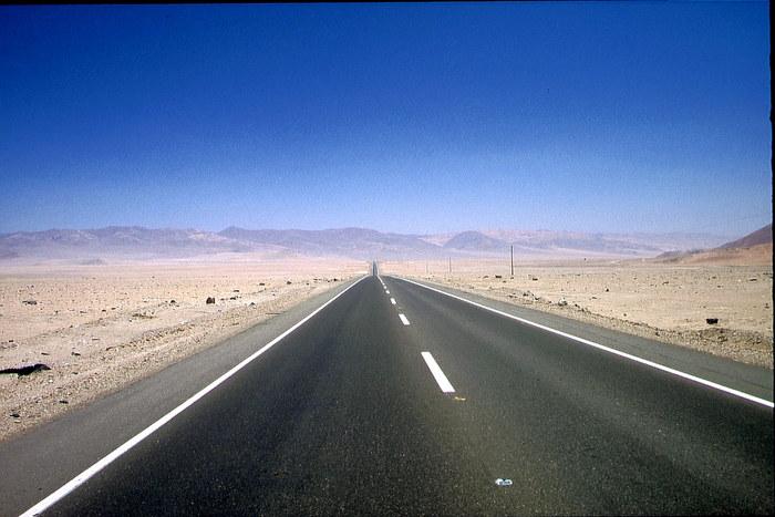 Panamericana in der Atacama