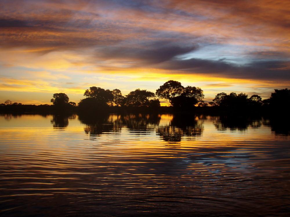 Panatanl II - weniger Wasser - Sonnenaufgang