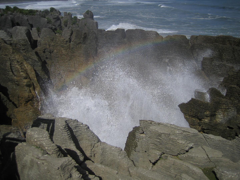 Pancake Rocks, Neuseeland 2008