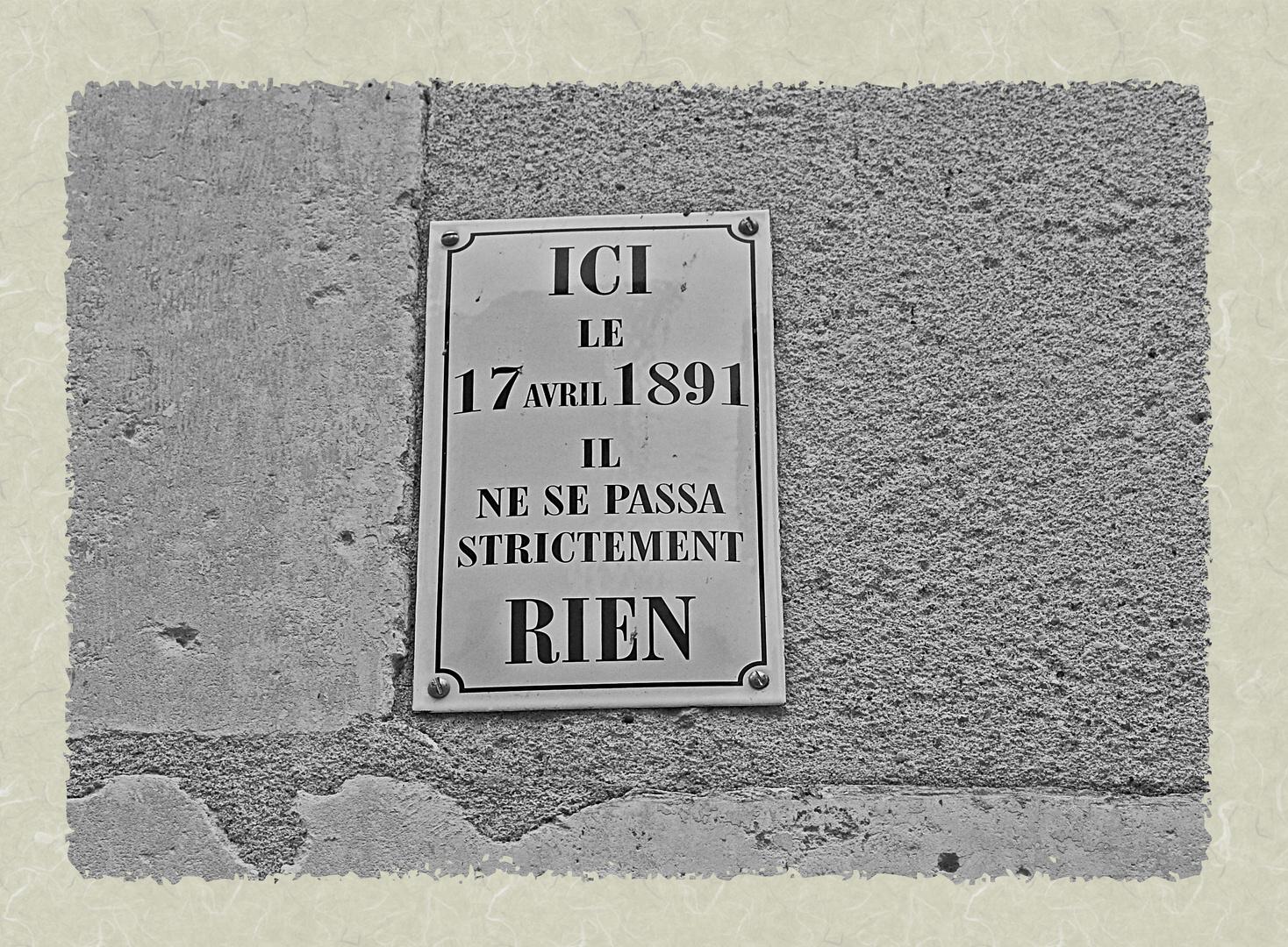 pancarte, Auxerre