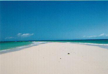 Pangani, Sandinsel