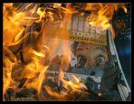 Panik im Feuer