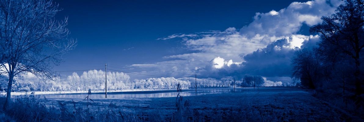 Pano: Flooded Fields [IR]