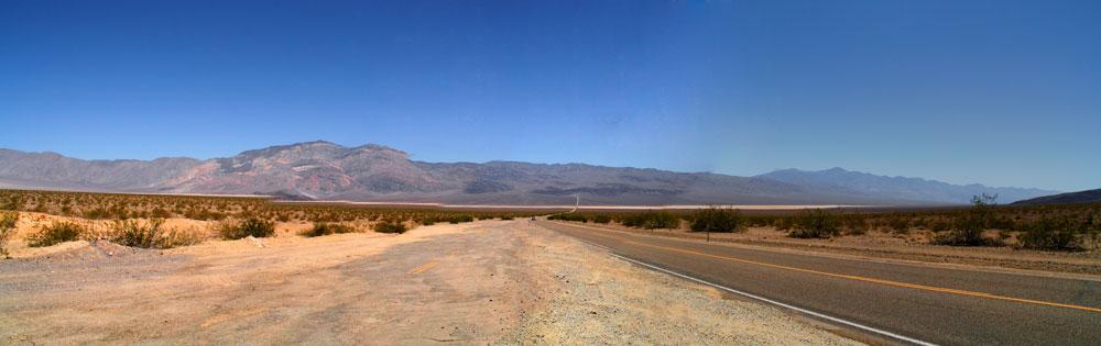Panorama 1 vom Death Valley