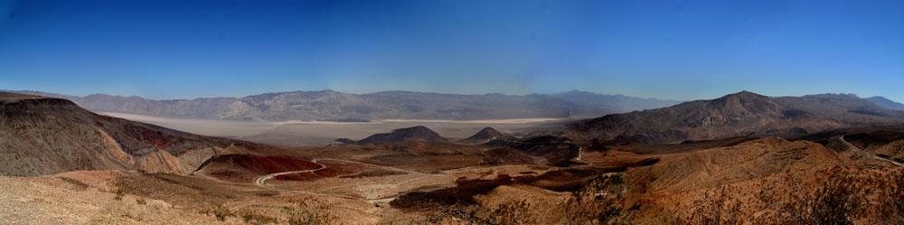 Panorama 2 vom Death Valley