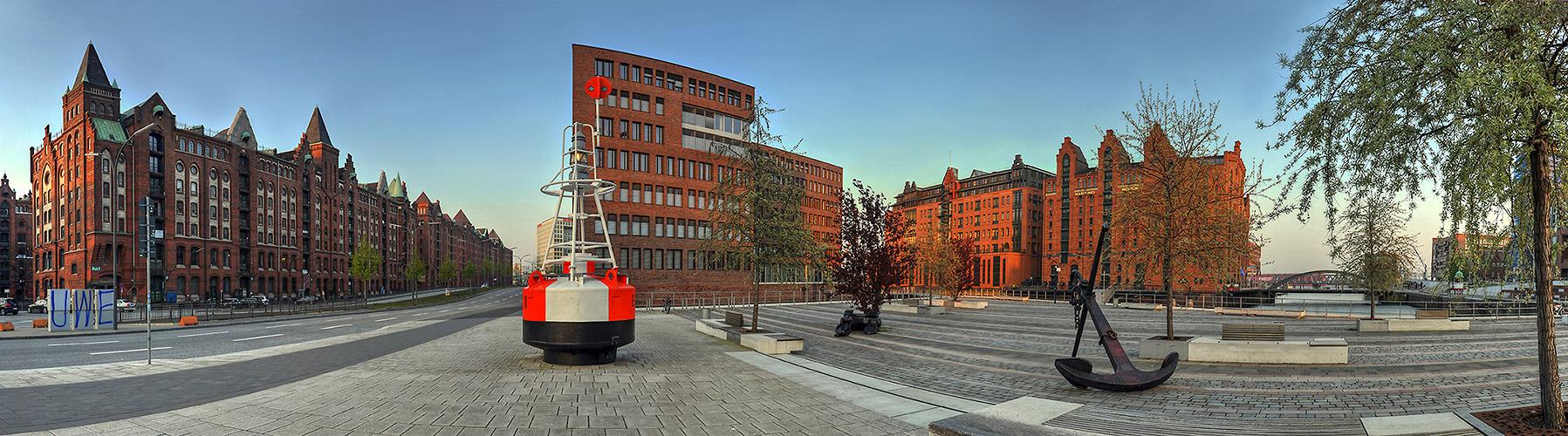 Panorama am Internationalen Maritimen Museum - Hamburg