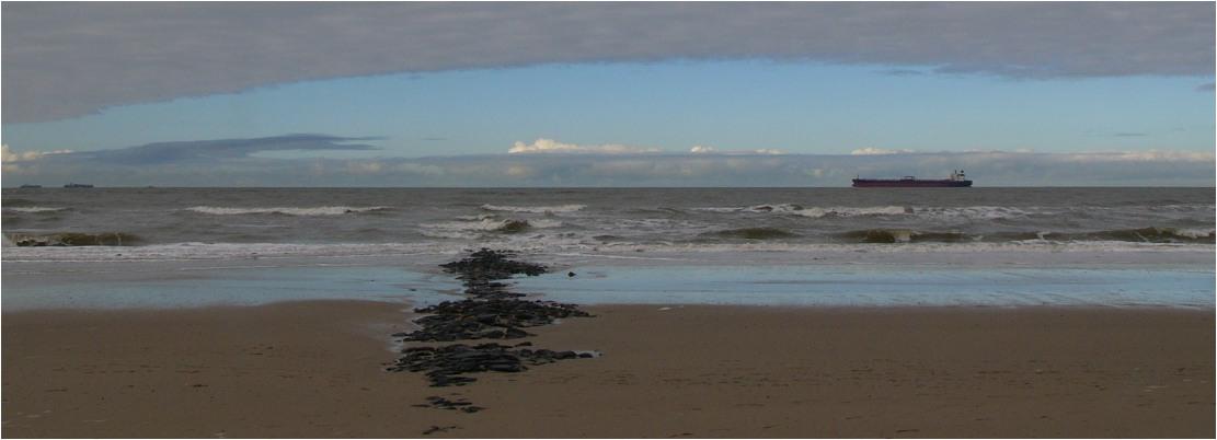 Panorama am Meer
