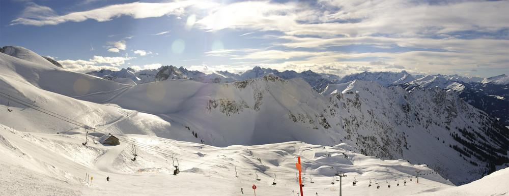 Panorama am Nebelhorn