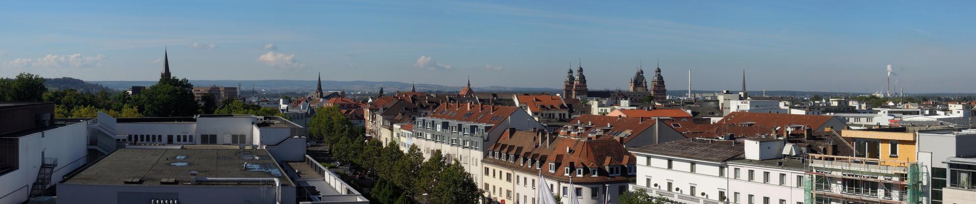 Panorama Aschaffenburg