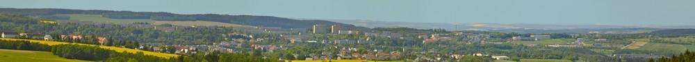 Panorama - Auerbach im Vogtland -