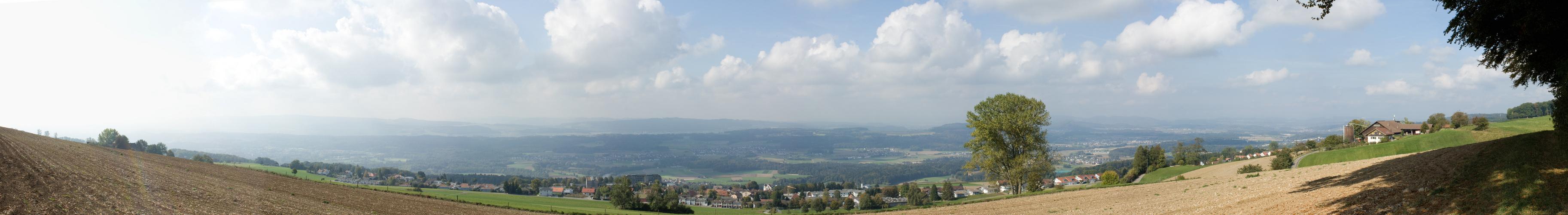 Panorama Aufnahme in Bellikon