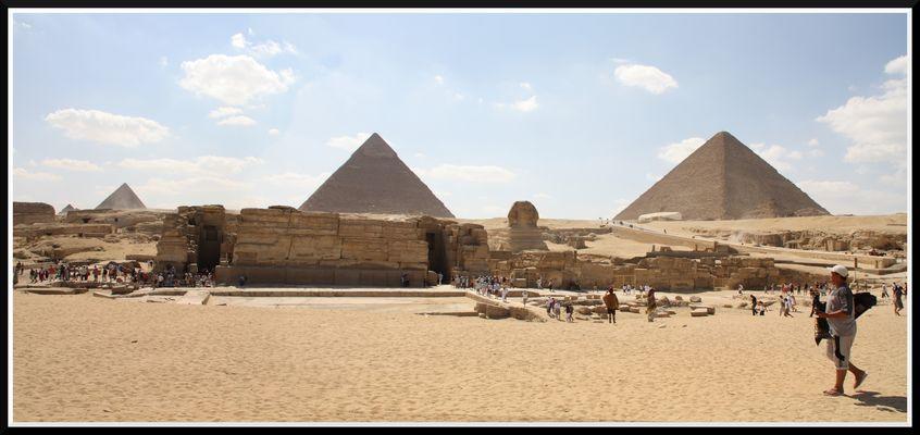 Panorama Aufnahme Kairo