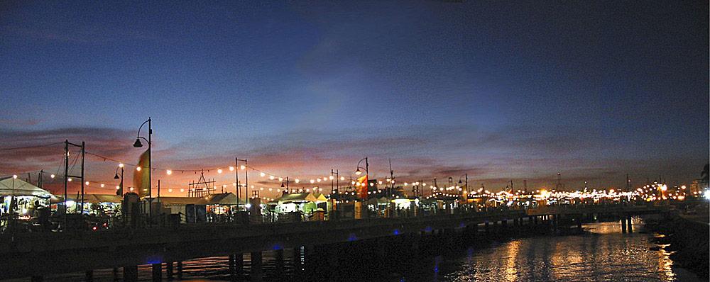 Panorama: Baywalk, Manila, Philippinen