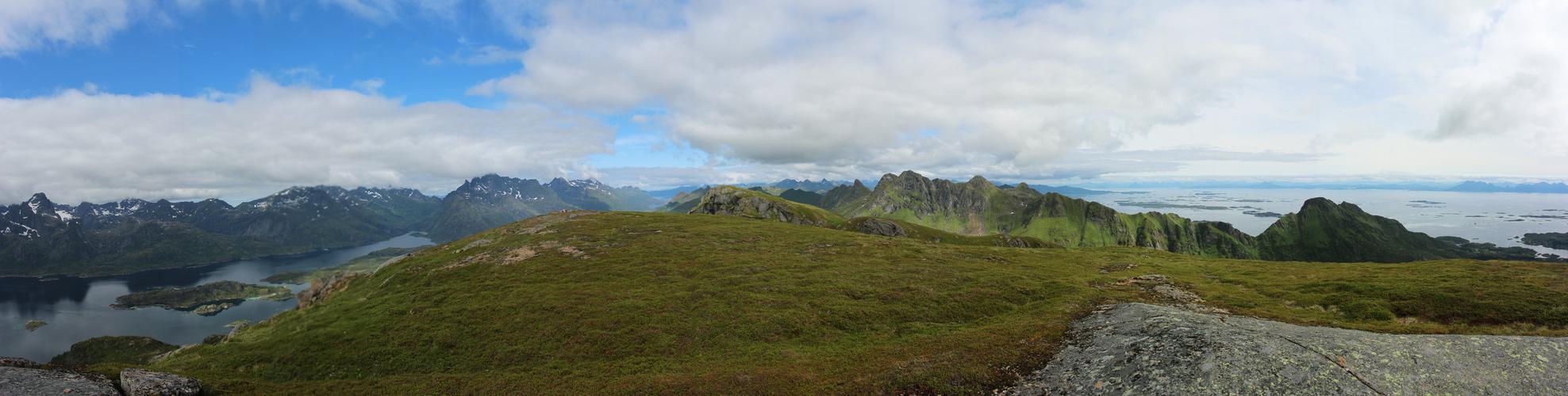 Panorama Berglandschaft 2