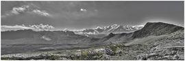 Panorama chaîne du Mont-Blanc de ApollonZeus
