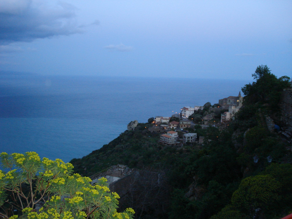panorama città di Acrì provincia di Messina