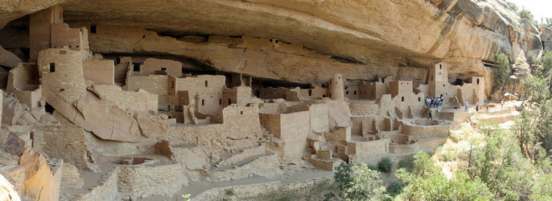 Panorama Cliff Palace - Mesa Verde