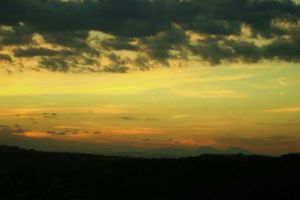 Panorama dal balcone di casa mia