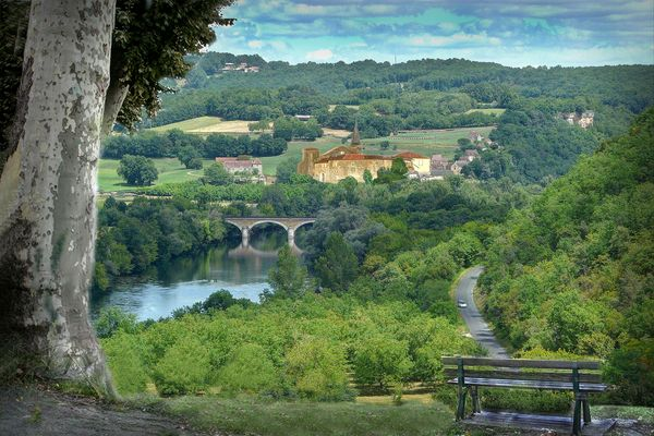 Panorama de Dordogne