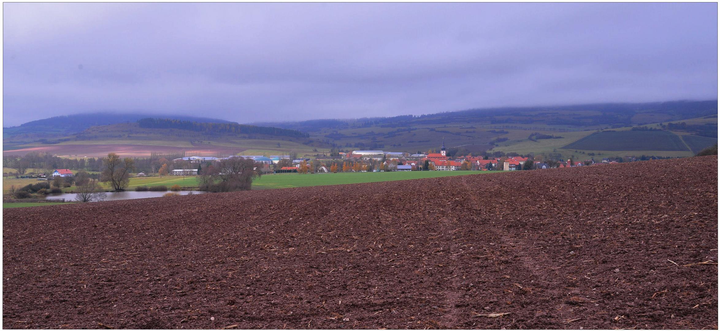 Panorama de mi tierra (Panorama von meiner Heimat)