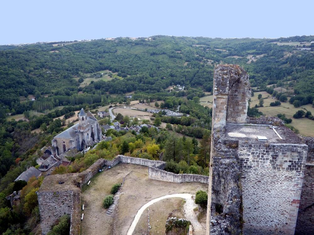 panorama de Najac
