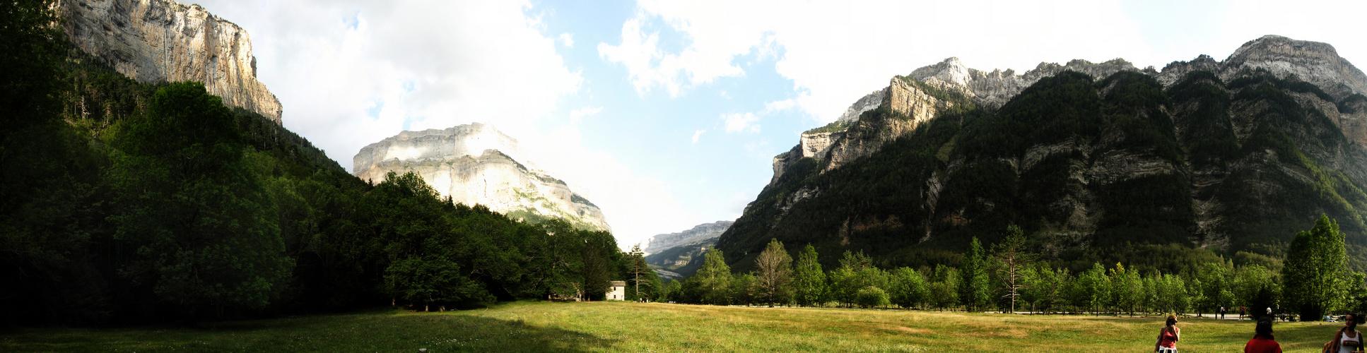 Panorama de Ordesa