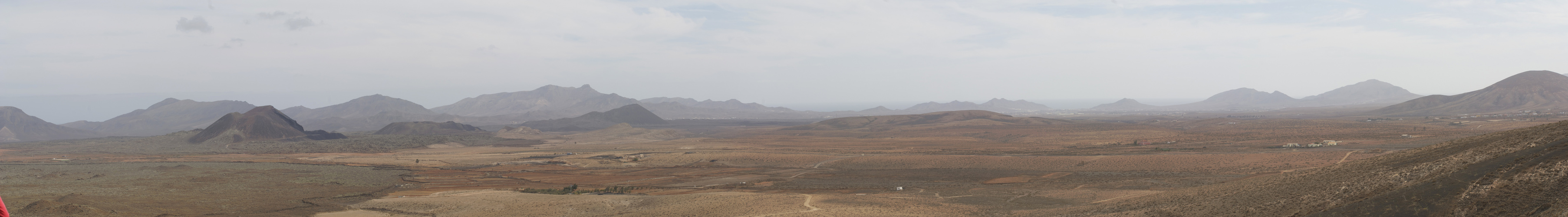 panorama de volcanes