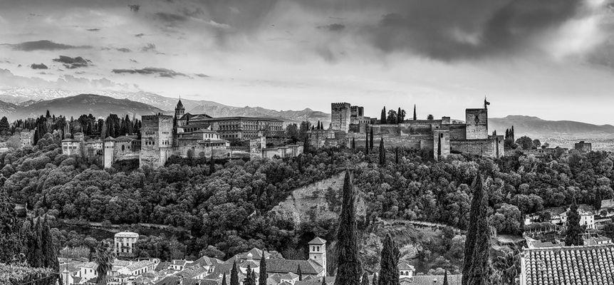 Panorama der Alhambra, Granada