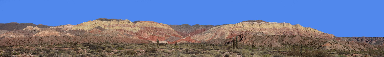 Panorama der Quebrada de Humahuaca