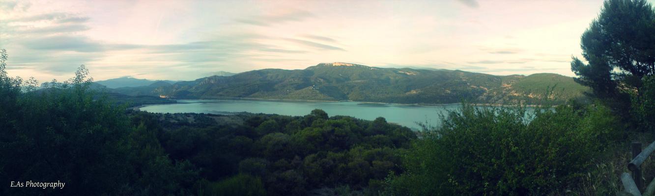 Panorama D'Espagne (Embalse de Santa Ana)