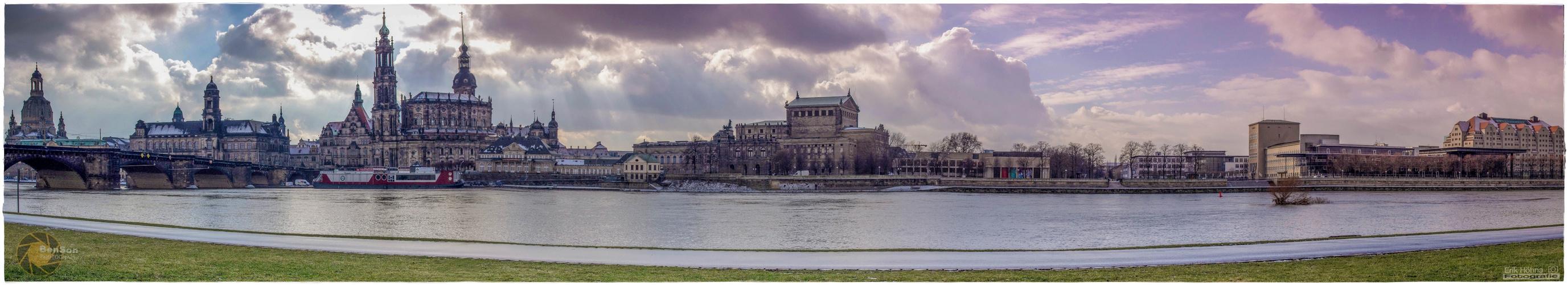 Panorama Dresden (1. Versuch)