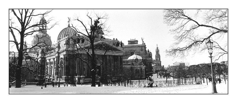Panorama Dresden --> Kunstakademie