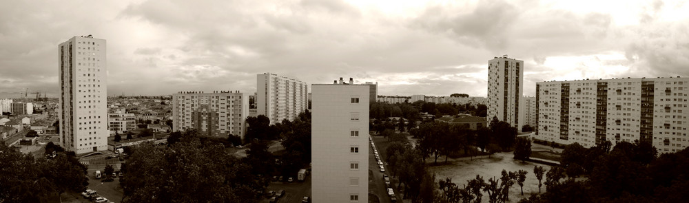 panorama du balcon
