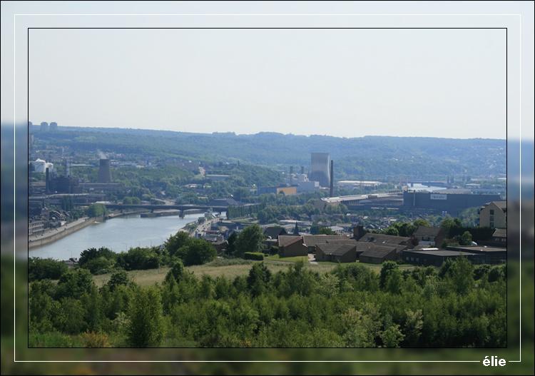 Panorama du Gosson 2 vue sur Meuse