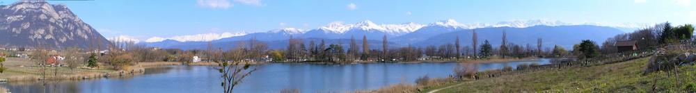 Panorama du lac St André