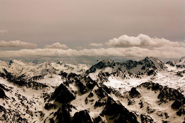 panorama du pic du Midi de Bigorre