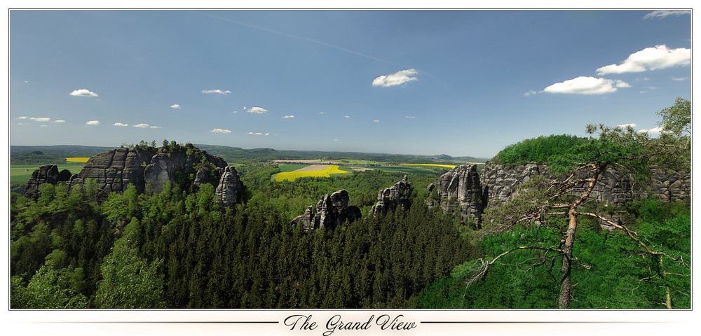 Panorama - Falknertürme