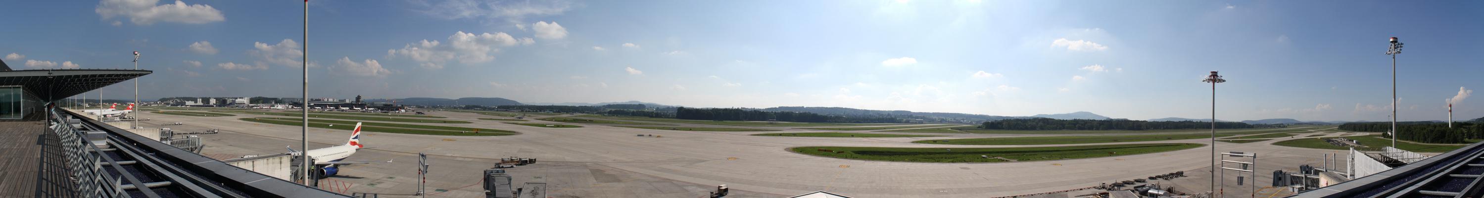 Panorama Flughafen