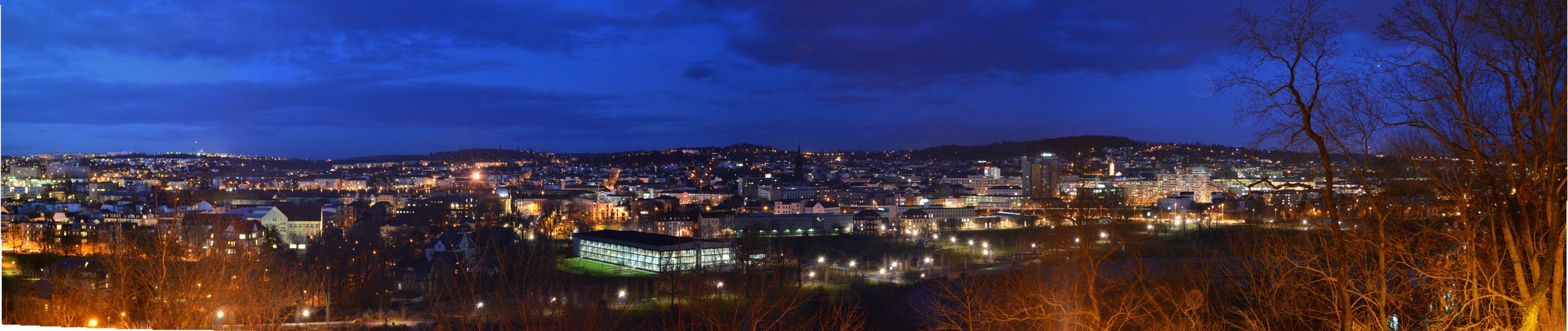 Panorama Gera @ night