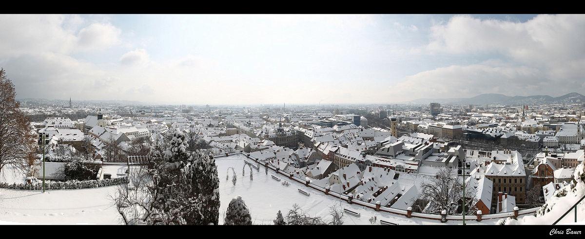 Panorama Grazer Altstadt