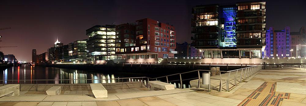 Panorama HafenCity