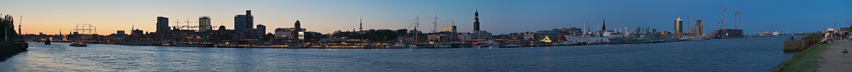 Panorama: Hafengeburtstag 2008